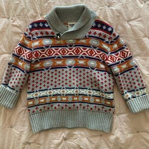 Genuine Kids Oshkosh boy sweater 3T